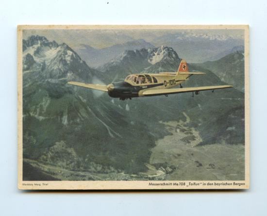 Photo 'Messerschmitt Me 108'